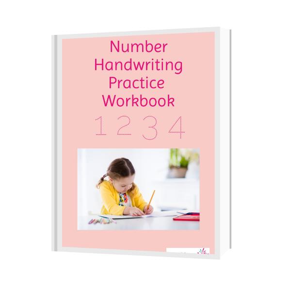 Number Handwriting Practice Workbook