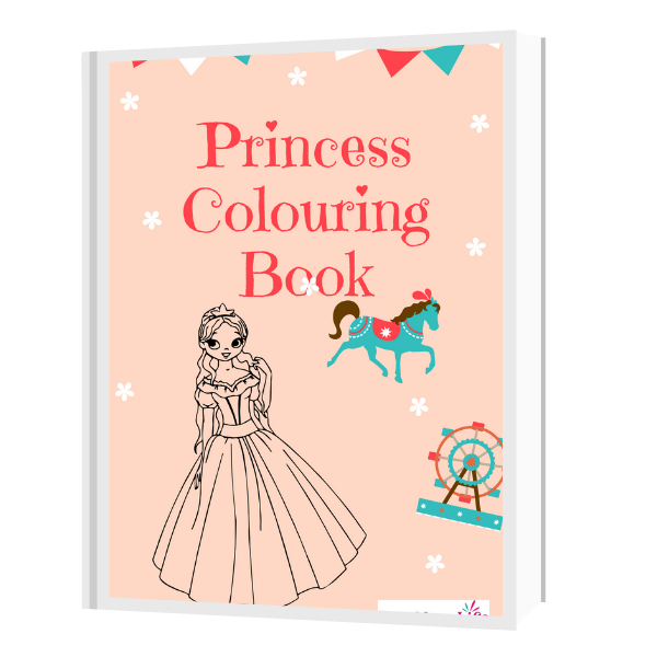 Princess Colouring Book for Children